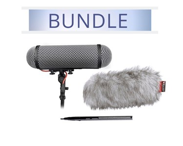 Sennheiser 416 with Rycote Perfect For windshield