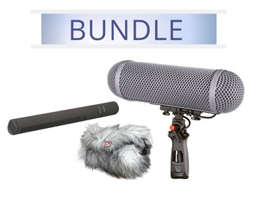 Sennheiser MKH8060 with Rycote WS3 Windshield
