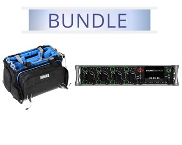 Sound Devices 888 with Orca OR-32 mixer bag