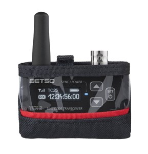 Nylon Pouch for Betso TCX-2+ Timecode Transceiver