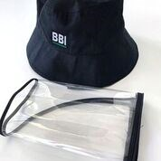 Bubblebee bucket type hat with protective visor