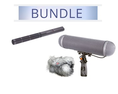 Sennheiser MKH 60 with Rycote Windshield Kit 4