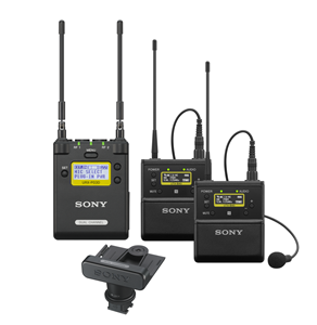 Sony 2 Channel URX-P03D radio mic kit