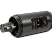 VDB 6-104M right angle XLR adaptor