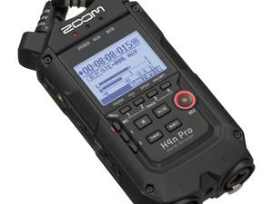 Zoom H4n Pro Black 4 track audio recorder