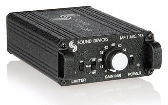 Sound Devices MP-1 mic. amp.