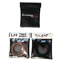 K-Tek Stingray Lav Pouch (Set of 3)