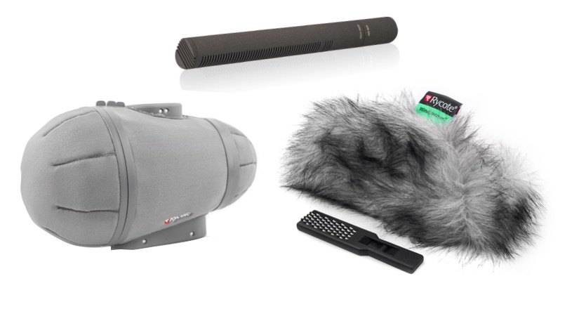 Sennheiser MKH8060 with Rycote Cyclone