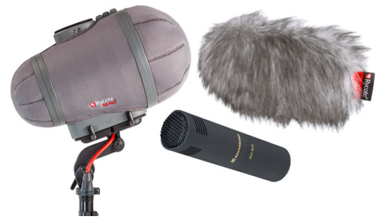 Sennheiser 8050 with Rycote Cyclone bundle