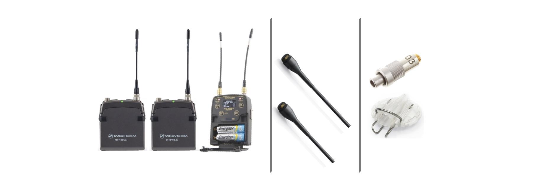 Wisycom & DPA Bundle MPR52 & MTP 40's with 2 x DPA Core 4060's