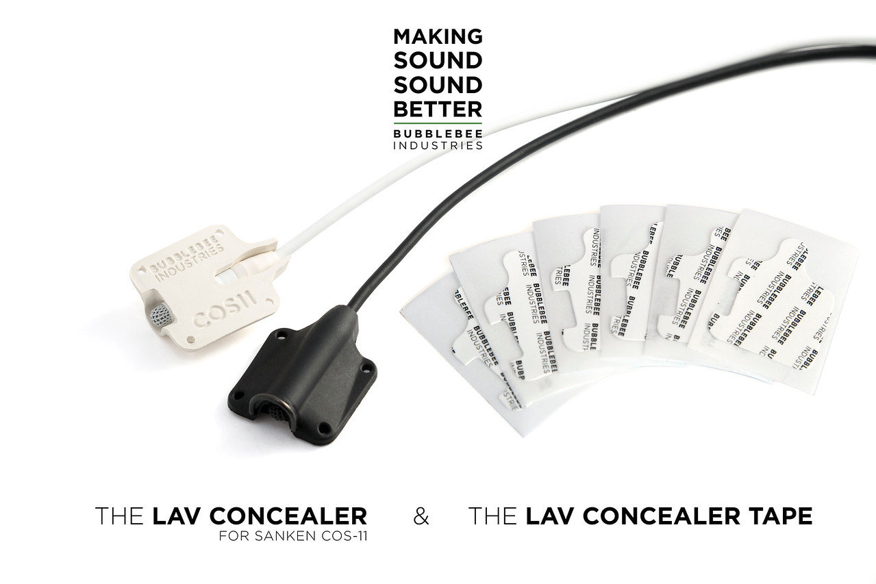 Bubblebee Industries Lav concealer for COS11. White
